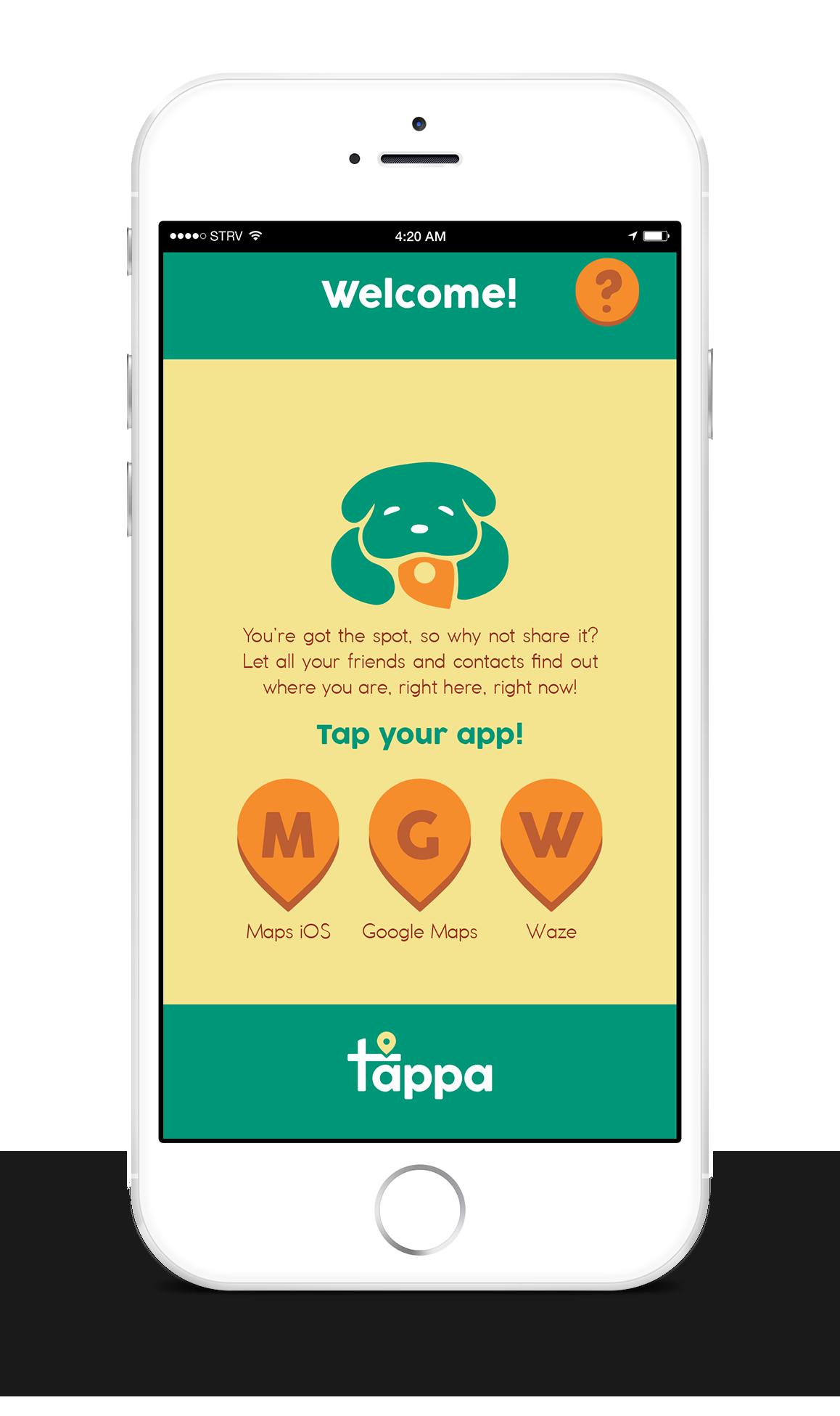 TappaAppMockupWelcome